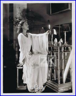 JOAN CRAWFORD Miroir Boudoir Art Deco Mode MGM Glamour Photo 1920s