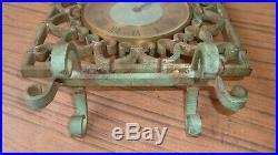 Jaeger-lecoultre Pendulette De Bureau Vers 1900 Fonctionne