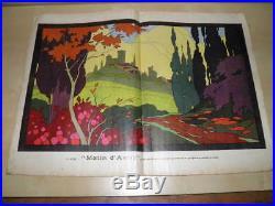 LECLERC L'Artisan Pratique ANNÉE 1925 COMPLET REVUE ART DÉCO Décoratifs Gravures