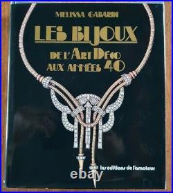 Les bijoux de l'art déco aux années 40 Gabardi, Melissa