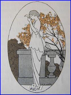 Lettres d'un parisien et d'une Américaine A. E. Marty Parfum Rigaud Fouquières