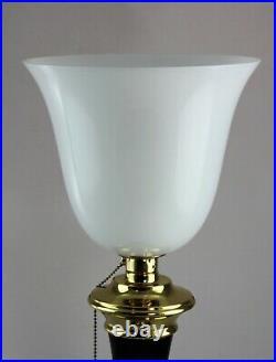 MAZDA Lampe de Table Art Déco Classique Réplique Bureau