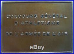 MED8618 MEDAILLE ART-DECO ARMEE DE L'AIR ad excelsa per exclum DELAMARRE 1930