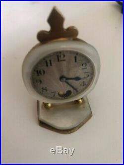 Mini pendulette de voyage didisheim-goldschimdt art déco