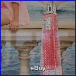 N1586 panneau affiche GIVENCHY parfum Live Irrésistible art déco PN France
