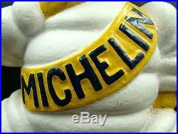 Original Français Art Déco Michelin Revendeur Bibendum Fonte Mascotte circa 1929