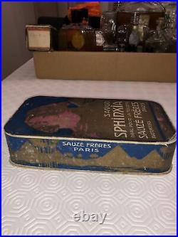 Parfum Sauzé Art Deco Nouveau Savon Sphinxia Très Rare Très Recherché