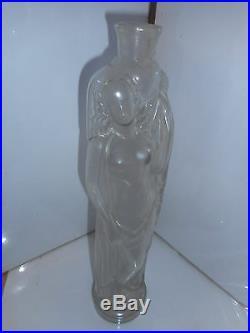Parfum flacon porteuse d'eau carafe art deco perfume flask jug