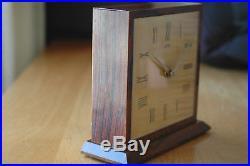 Pendule Léon Hatot Ato Desk Clock Pur Art Deco Circa 1935