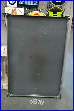 Plaque émaillée sanderman's port art deco 6040 cm