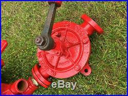 Pompe à essence Satam Japy année 1930 bidon huile plaque emaillé shell mobiloil