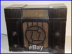 RADIO TSF CAISSE EN BAKELITE Marque ORADYNE ORA A REVISER COLLECTION ART DECO
