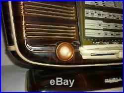 RADIO ancienne rare SNR EXCELSIOR 52 VINTAGE ART DECO
