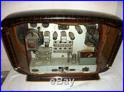 RADIO ancienne rare SNR EXCELSIOR 52 VINTAGE ART DECO tsf