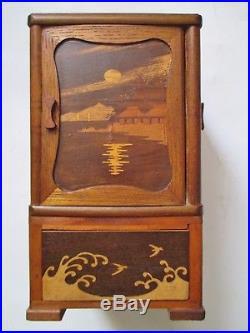 RARE CAVE CIGARES CIGARETTES ART NOUVEAU DÉCO époque Coloniale Saïgon Asie 1930