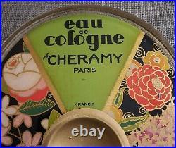 Ramasse monnaie Eau de Cologne Chéramy années 30 art déco (no parfum) vintage