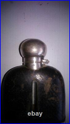 Rare Art Deco Fiole A Alcool James Dixon & Sons 1835 1920 M In England
