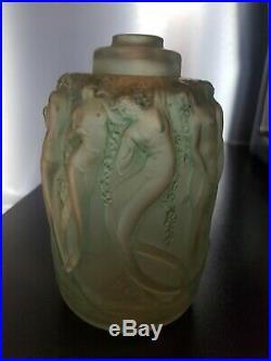 Rare Brûle-parfum Sirenes RENÉ LALIQUE art Deco 1922 old incense burner lalique