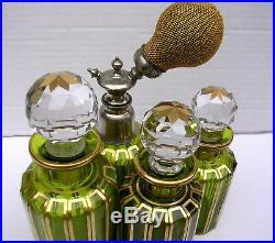 Rare Flacons Bouteilles Cristal Baccarat Ancien Collection