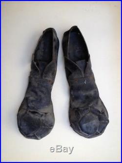 Rare Paire De Chaussures De Clown De Cirque Celebre Vers 1920 Piece De Musee