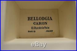 Rare Parfum Caron Bellodgia Art Deco 1927 Baccarat