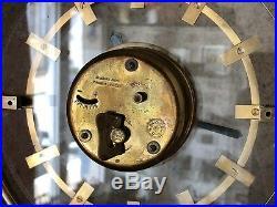 Rare Pendulette Mystérieuse Art Deco Bayard 8 Jours 1930s