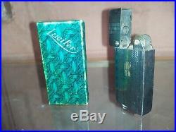 Rare briquet LUCIFER ancien LIGHTER Art déco 1920/30 briquet à essence