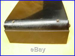 Rare coffret manucure ART DECO en métal laqué