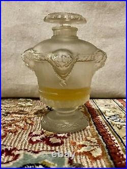 Rare flacon parfum ancien lalique Bouquet De Faunes Art Déco
