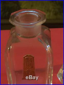 Rarissime, Ancien Flacon Art-Déco en Cristal de Baccarat Fée d'Orsay