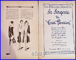 Revue Art Déco Trés Parisien. La Mode, Le Chic, Lélégance
