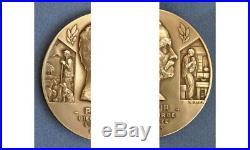 Superbe Paquebot Pasteur-sud Atlantique- Art Deco 1939-medaille Lancement