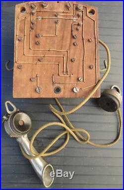 Téléphone ancien époque art déco, Société Industrielle des Téléphones